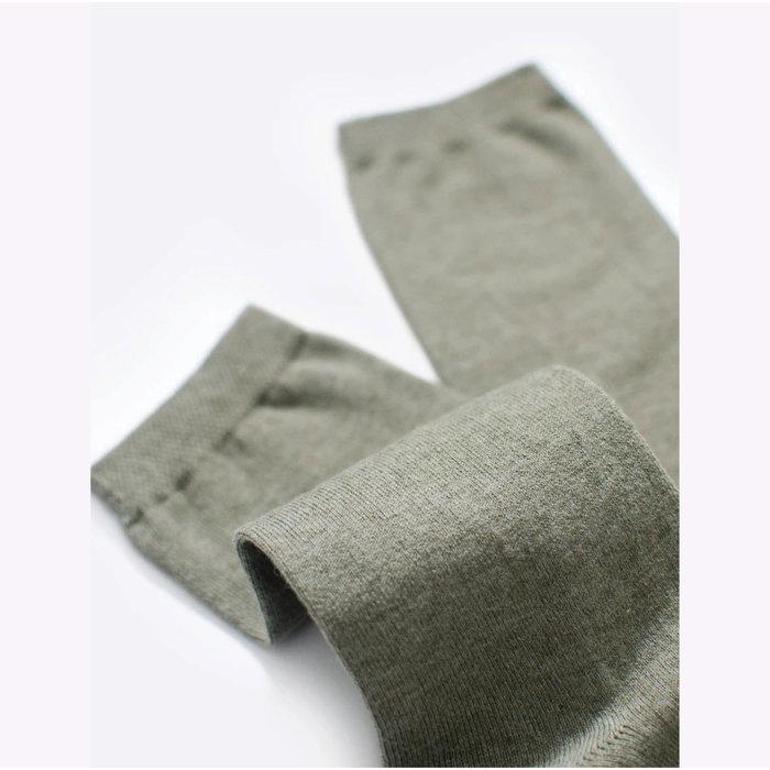 Chaussettes en fibres recyclées Futz - olive