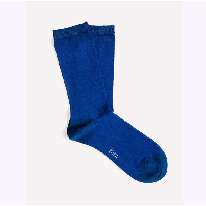 Futz Blue Bamboo Socks