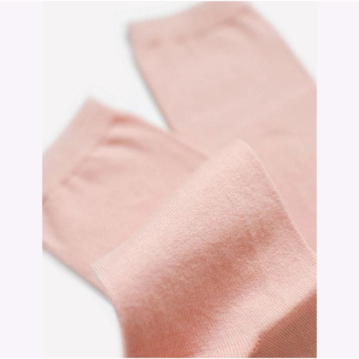 Chaussettes en fibres recyclées Futz - corail