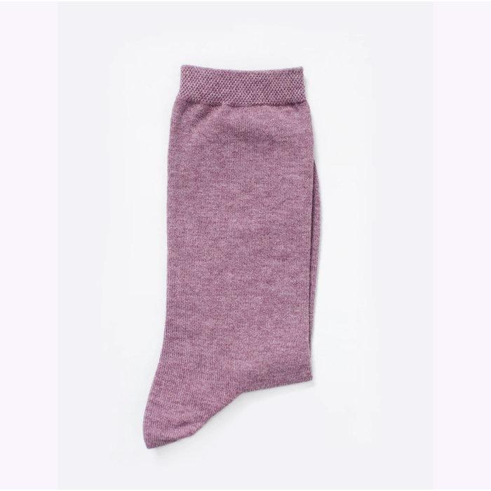 Chaussettes en fibres recyclées Futz - magenta