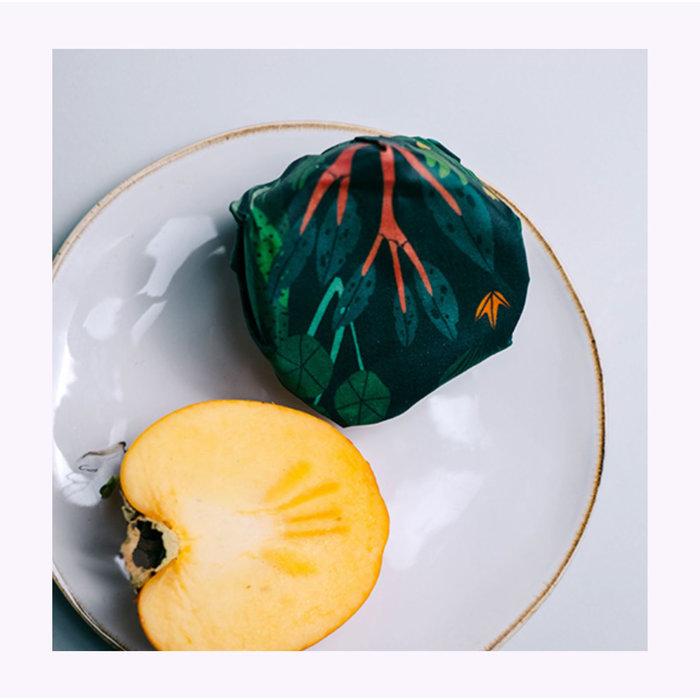Gaia Jungle Edition Reusable Food Wraps - Set of 3