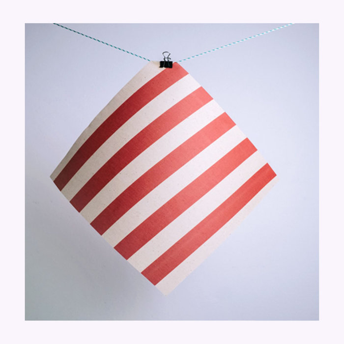 Gaia Gaia Red Striped Reusable Food Wrap