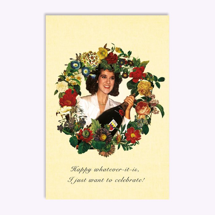 Hello LA I just want to celebrate! Greeting Card