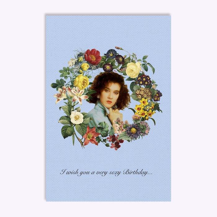 Hello LA Hello LA Sexy Birthday Greeting Card