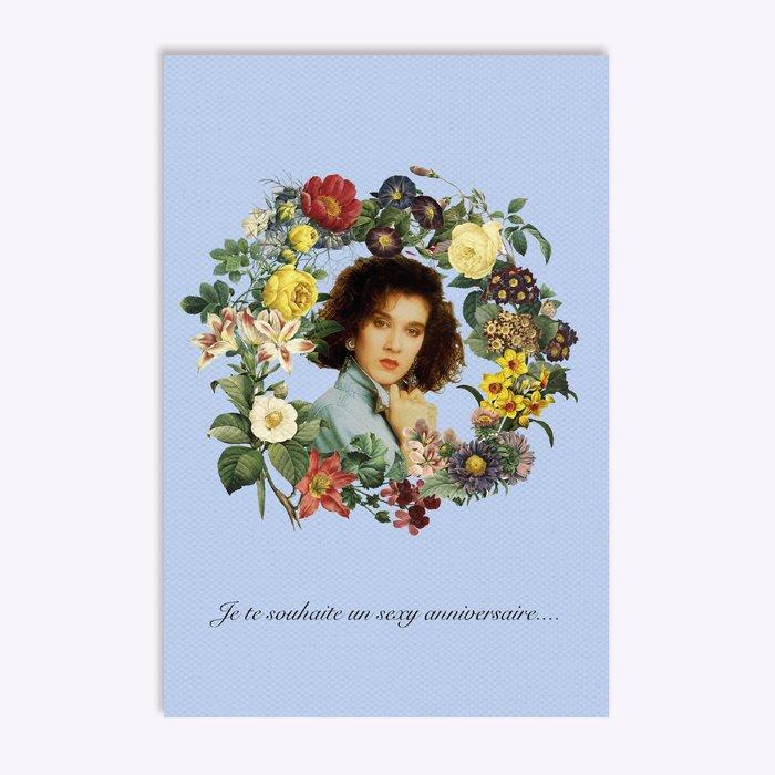 Carte de souhait Hello LA Sexy Anniversaire