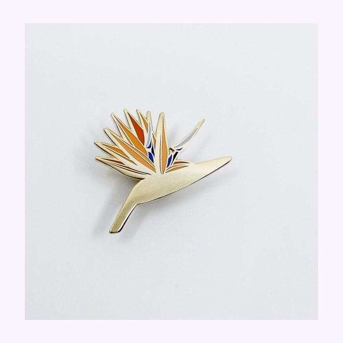 Hemleva Hemleva Bird of Paradise Pin