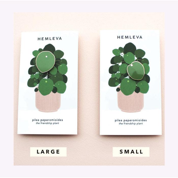 Hemleva Large Pilea Pin