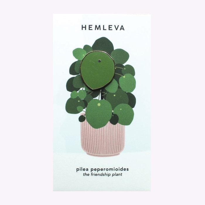 Hemleva Hemleva Large Pilea Pin