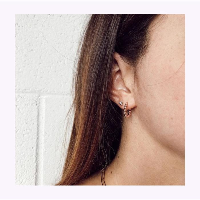 Boucles d'oreilles Horace Billa