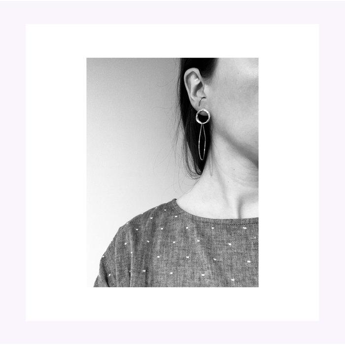 Boucles d'oreilles Hélène Laiton La Manufacture