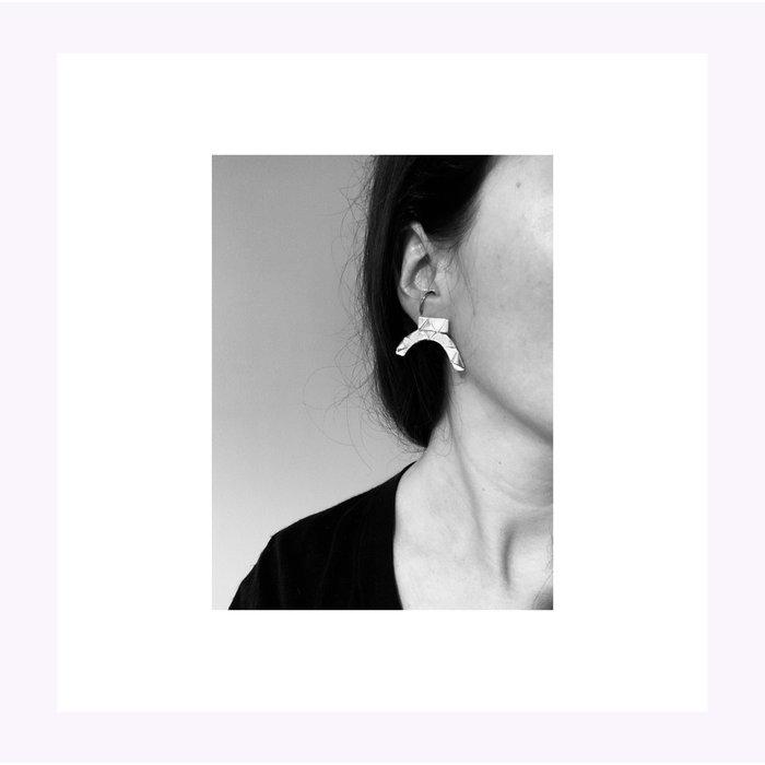 La Manufacture Silver Margot Earrings