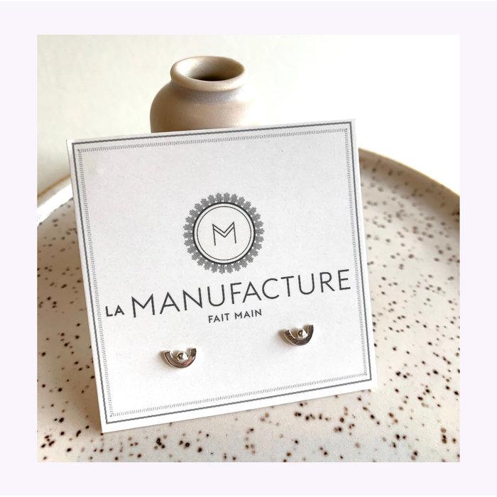 Boucles d'oreilles Violaine La Manufacture