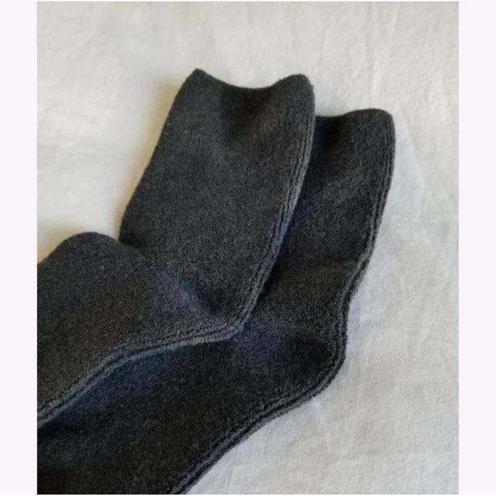 Le Bon Shoppe Charcoal Cloud Socks