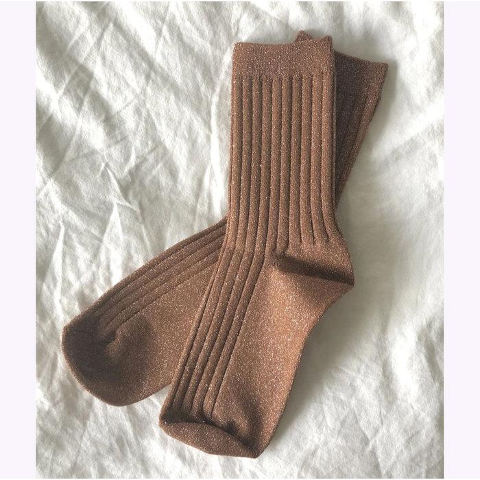 Le Bon Shoppe Amber Lurex Socks