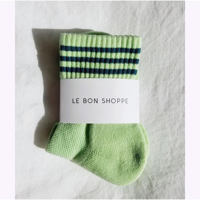 Chaussettes Le Bon Shoppe Girlfriend - Pistache