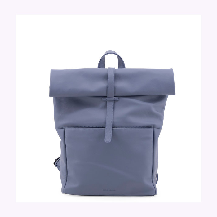 Monk & Anna Monk & Anna Faded Blue Herb Backpack