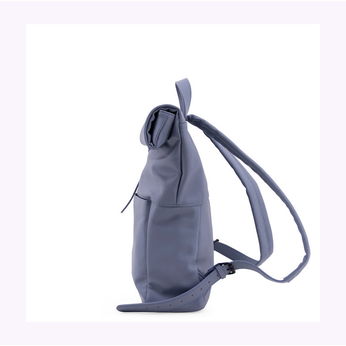Monk & Anna Faded Blue Herb Backpack