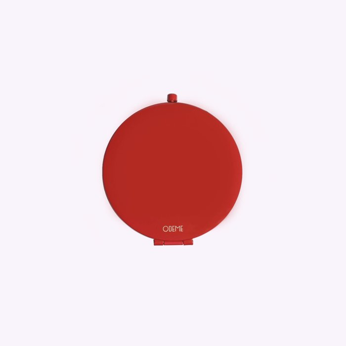 Odeme Odeme Red Compact Mirror