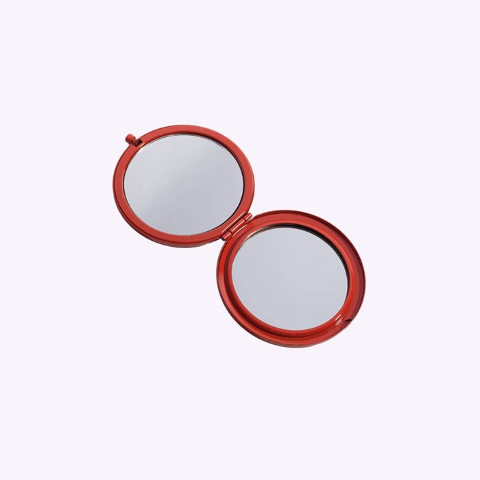 Odeme Red Compact Mirror