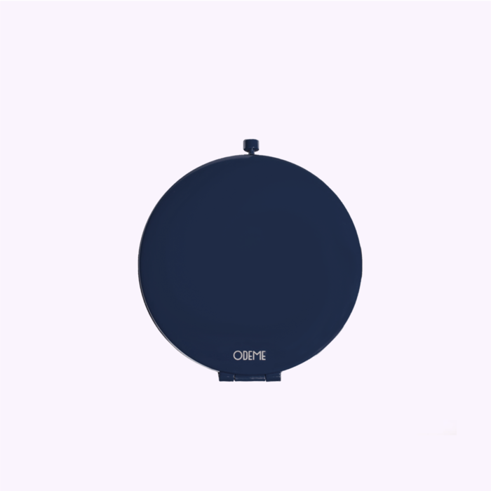 Odeme Navy Compact Mirror