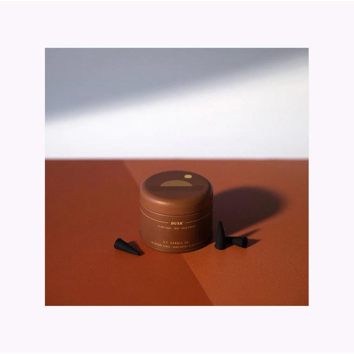 Encens en cônes Pf Candle Co. Dusk - Collection Sunset