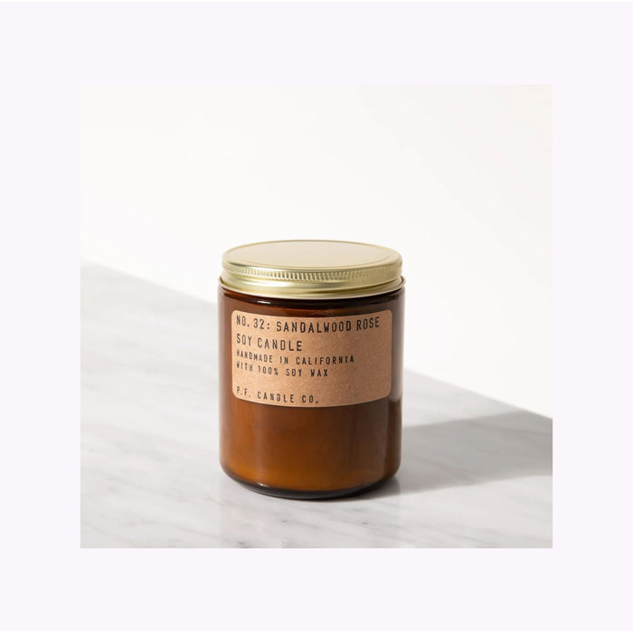 Pf Candle Co. Standard Sandalwood Rose Candle