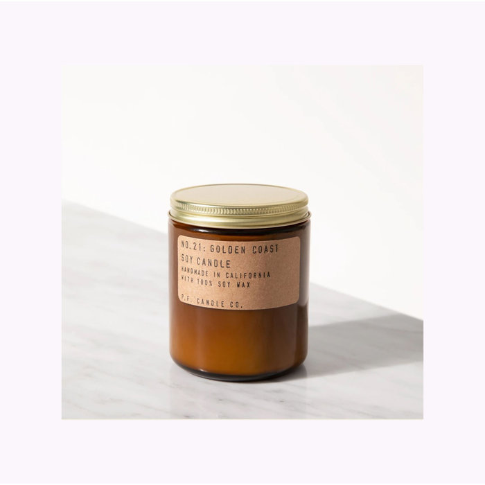 Pf Candle Co. Standard Patchouli Sweetgrass Candle