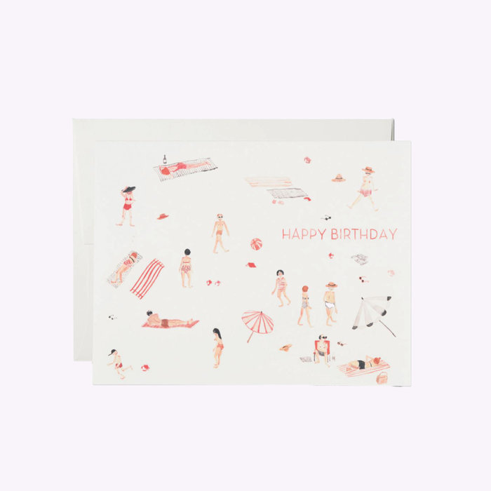Red Cap Cards Carte d'anniversaire Red Cap Cards Beach Bums BUR1359