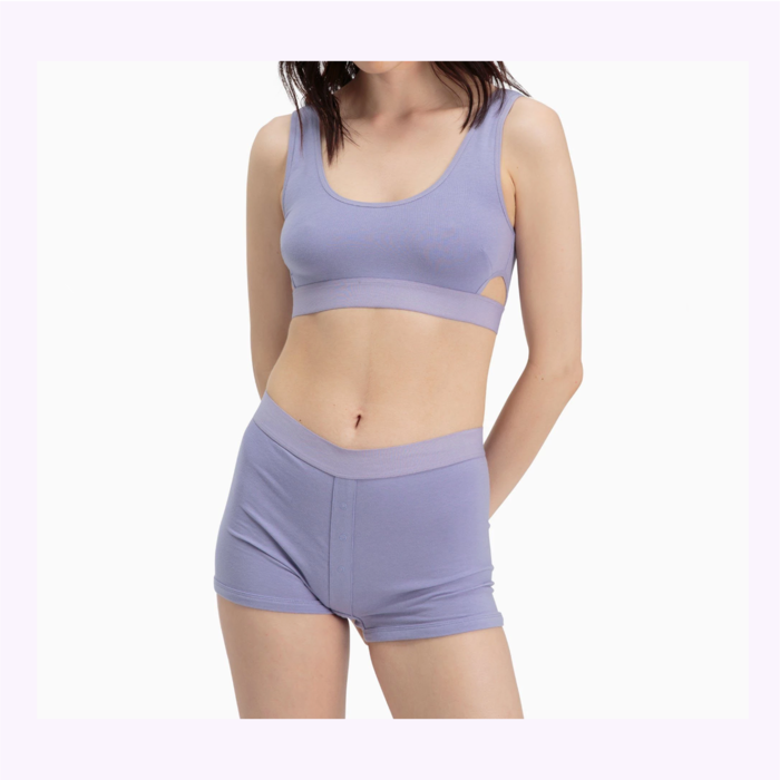 Richer Poorer Bralette Scoop Violet Richer Poorer