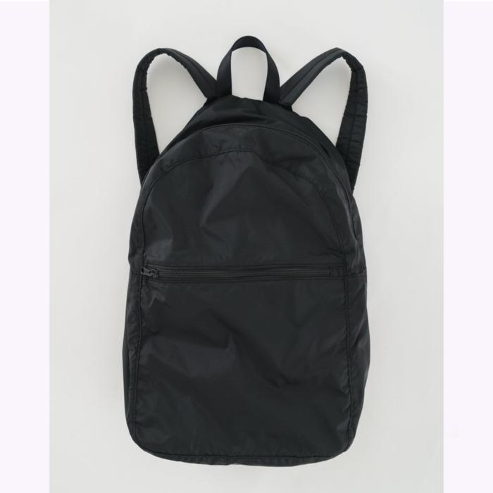 Baggu sac à dos Baggu Black Packable Backpack