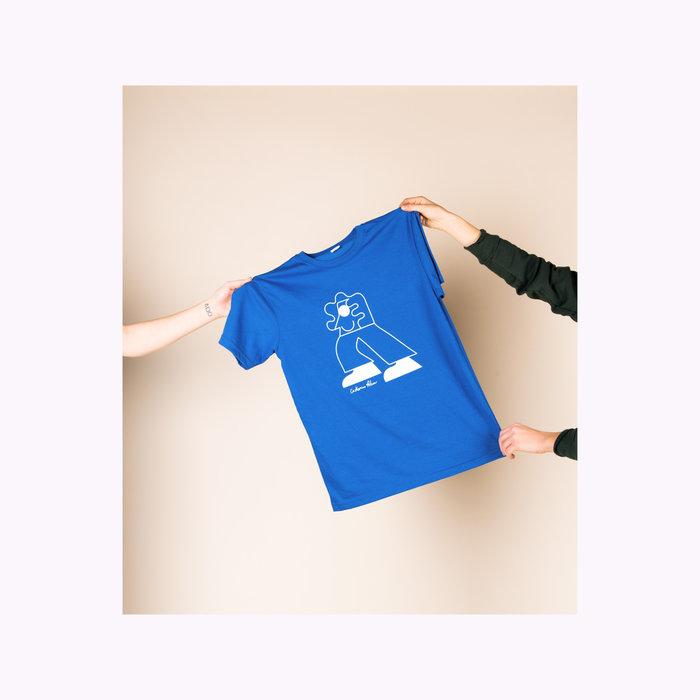 Les Beaux Jours T-Shirt Personnage Bleu  Les Beaux Jours