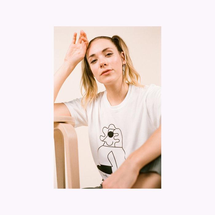 Les Beaux Jours T-Shirt Personnage Blanc Les Beaux Jours