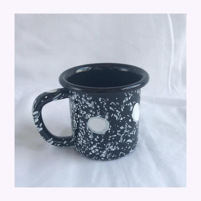 Bornn Bornn Small Spotted Enamel Mug