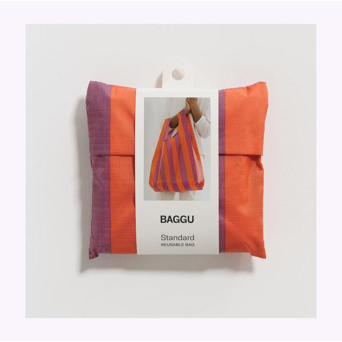 Sac réutilisable Baggu Rayures Oranges et Mauves