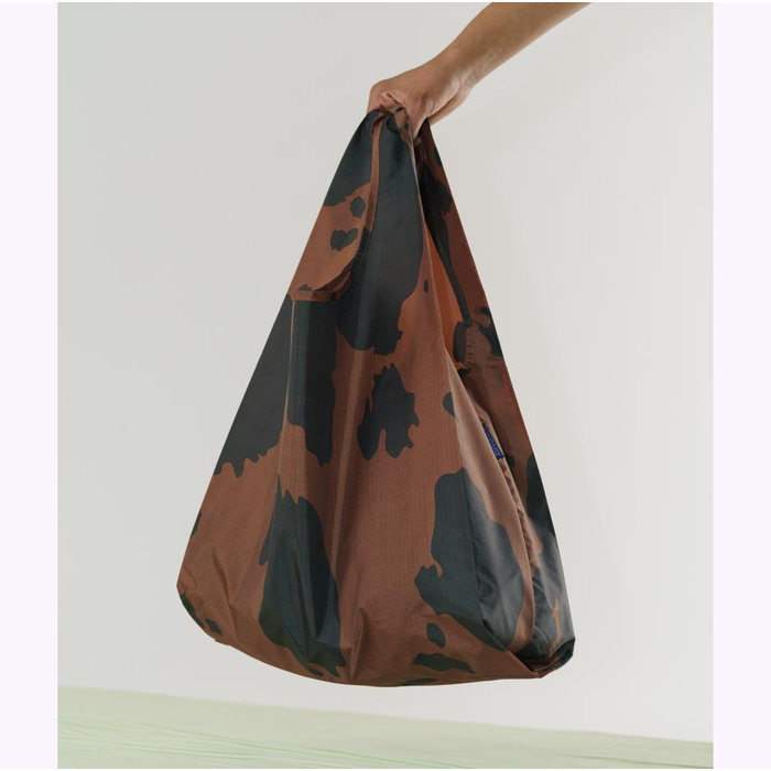 Baggu Black & Brown Cow Reusable Bag