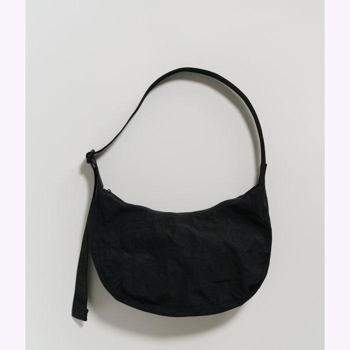 Baggu sac à main Baggu Black Crescent Bag