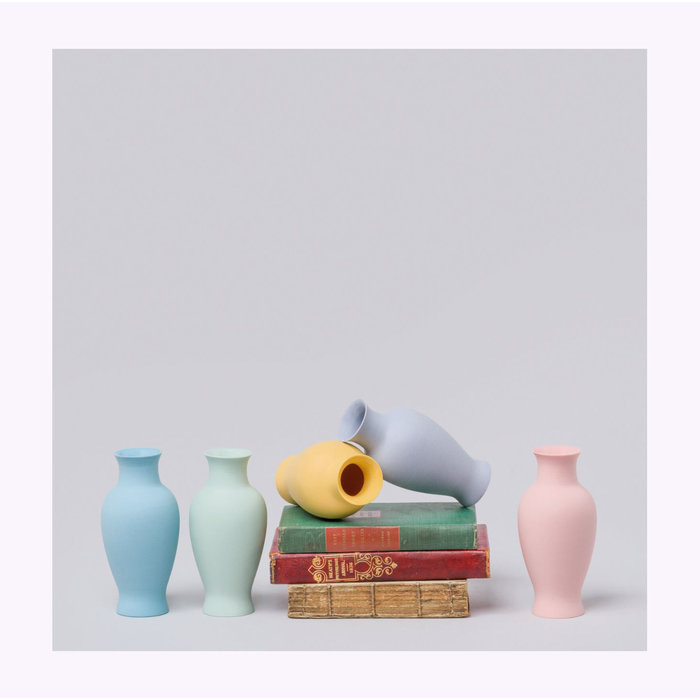 Mini Vase 9 Satiné Middle Kingdom