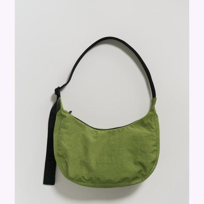 Baggu sac à main Baggu Apple Green Crescent Bag