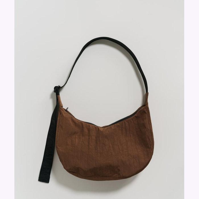 Baggu sac à main Baggu Brown Crescent Bag