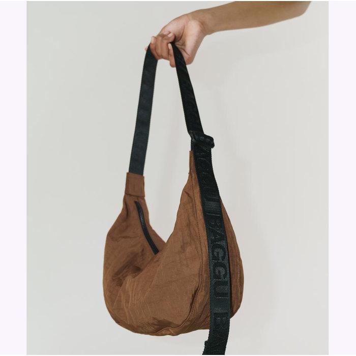 Baggu Brown Crescent Bag