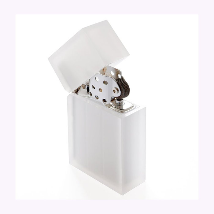 Tsubota Pearl Tsubota Pearl Clear Frost Reusable Lighter