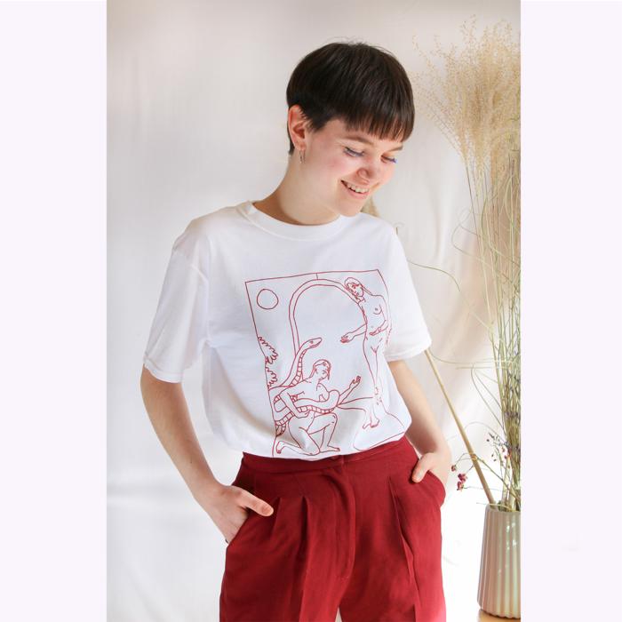 Isobel Mehta Isobel Metha Snake T-Shirt