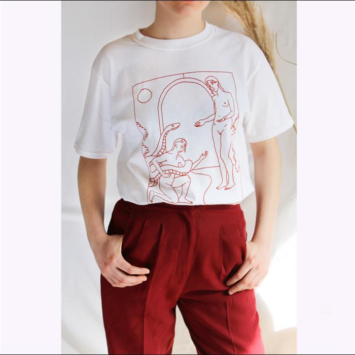 T-Shirt Serpent Isobel Metha