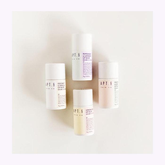Apt. 6 Skin co. Baume à lèvres compostable Apt. 6 Co