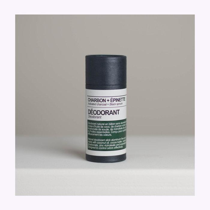 Maison Stoï Maison Stoï Activated Charcoal + Black Spruce Deodorant