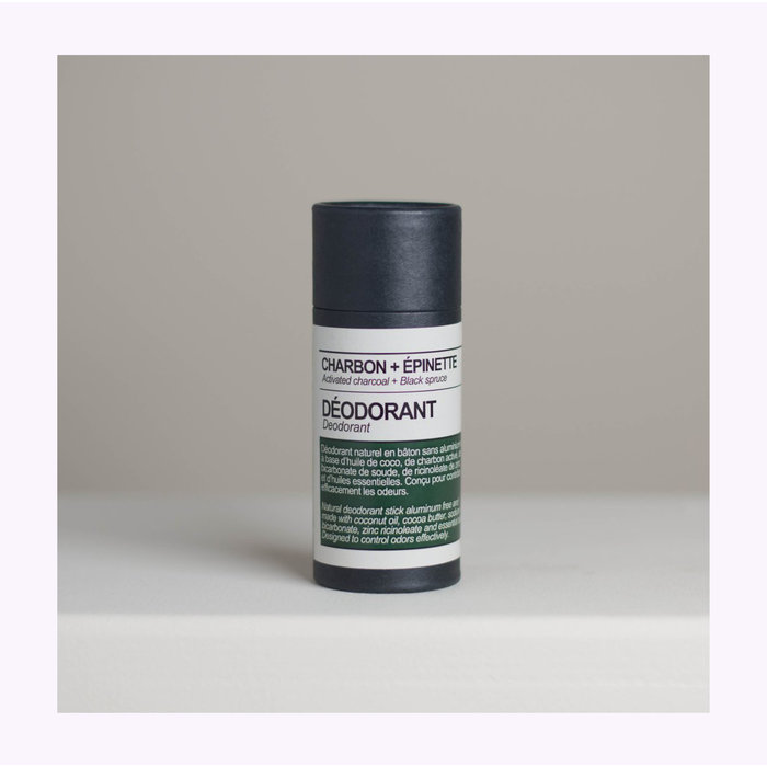 Maison Stoï Activated Charcoal + Black Spruce Deodorant