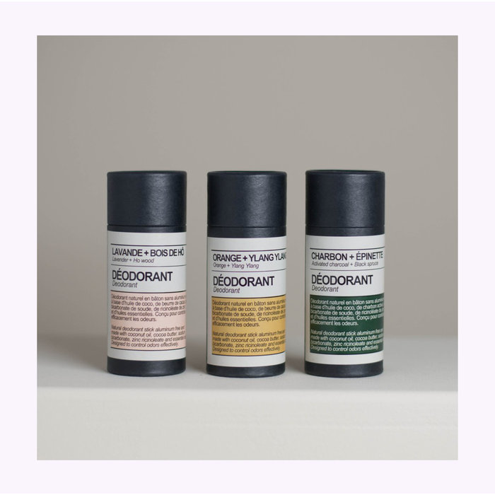 Déodorant Charbon + Épinette Maison Stoï