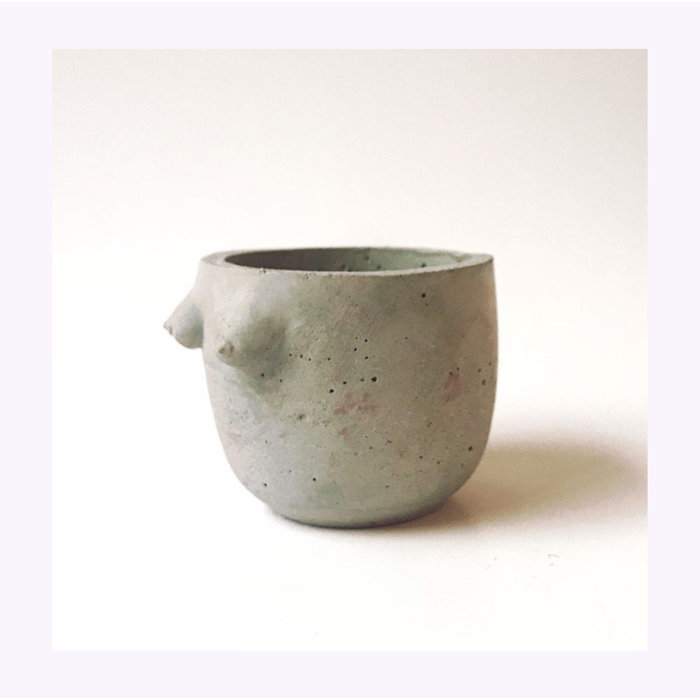 Petit Cache-pot B-Cup Cold Gold