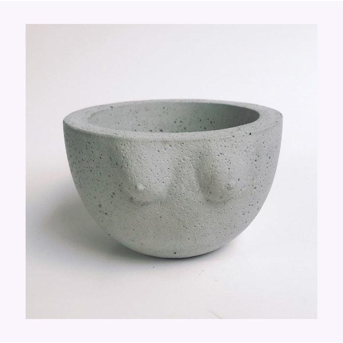 Grand Cache-pot B-Cup Cold Gold
