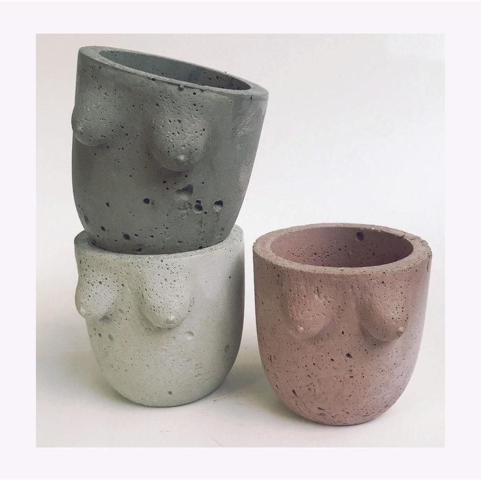 Moyen Cache-pot B-Cup Cold Gold
